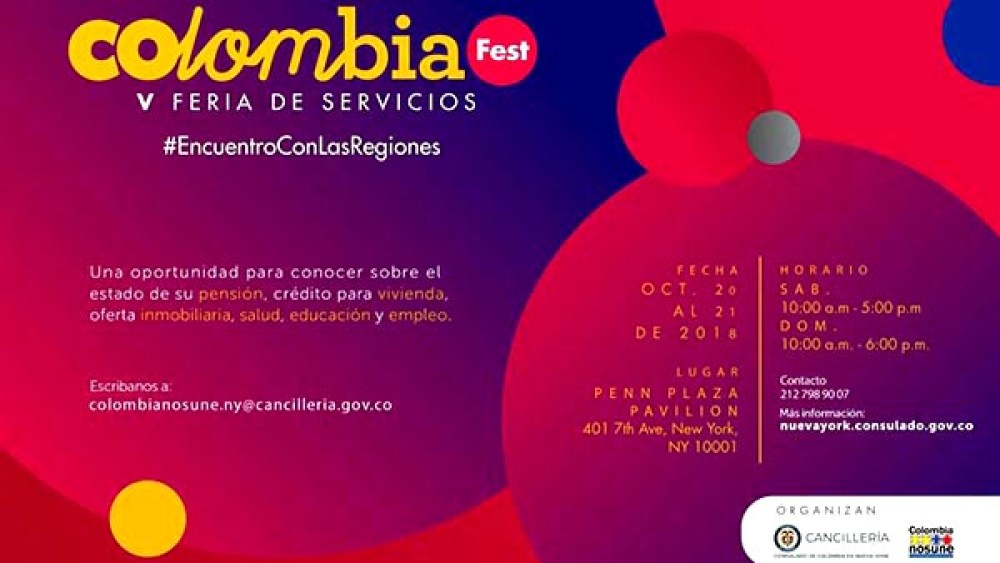 Colombia Fest ll 2018