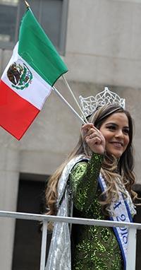La reina Maricela Hernández. Foto Humberto Arellano