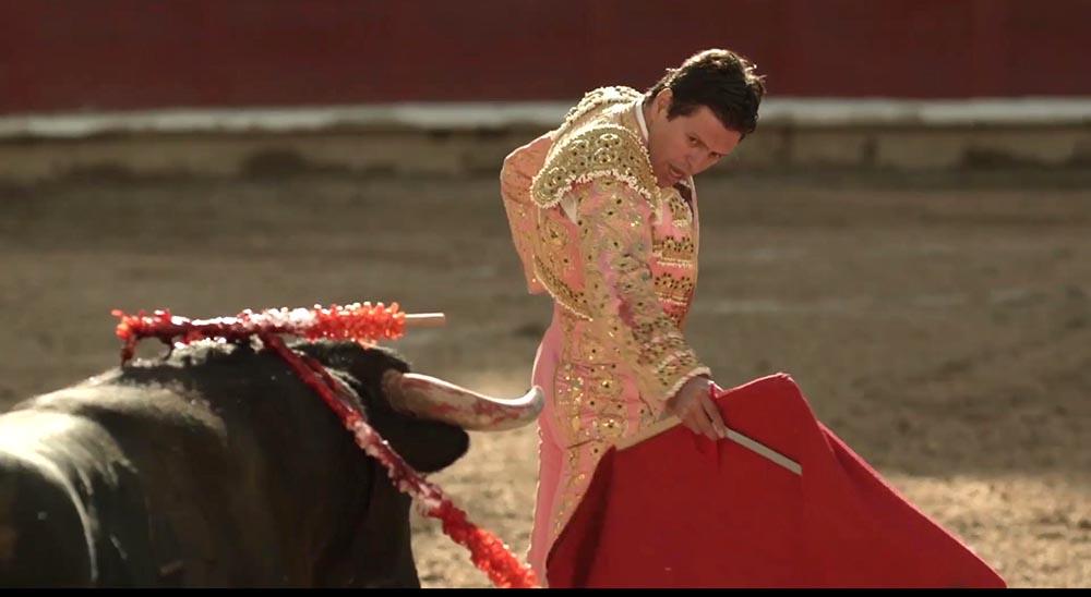Escena del documental El Torero.