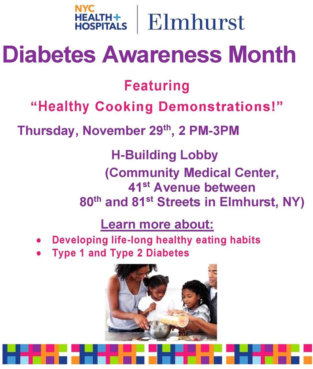 Elmhurst diabetes noviembre