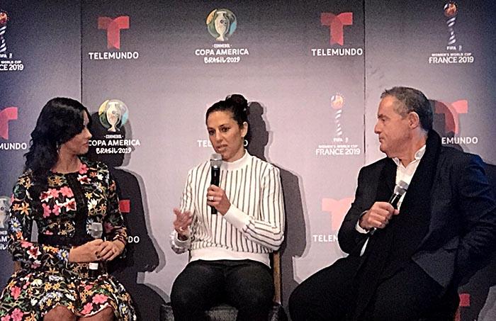 Telemundo Deportes trae la Copa América y Mundial Femenino