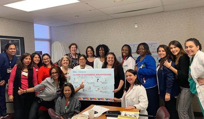 NYC Health + Hospitals/Elmhurst Recognized as 'Baby Friendly'
