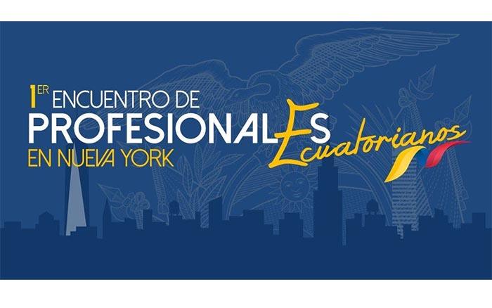 Primer encuentro de Profesionales Ecuatorianos en Nueva York