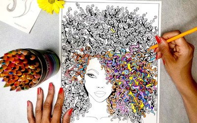 Coloring Book 'Sensational Wonder Women' for Adults