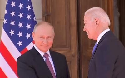 Putin y Biden cara a cara