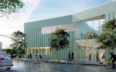 Biblioteca de Rego Park con nuevo diseño