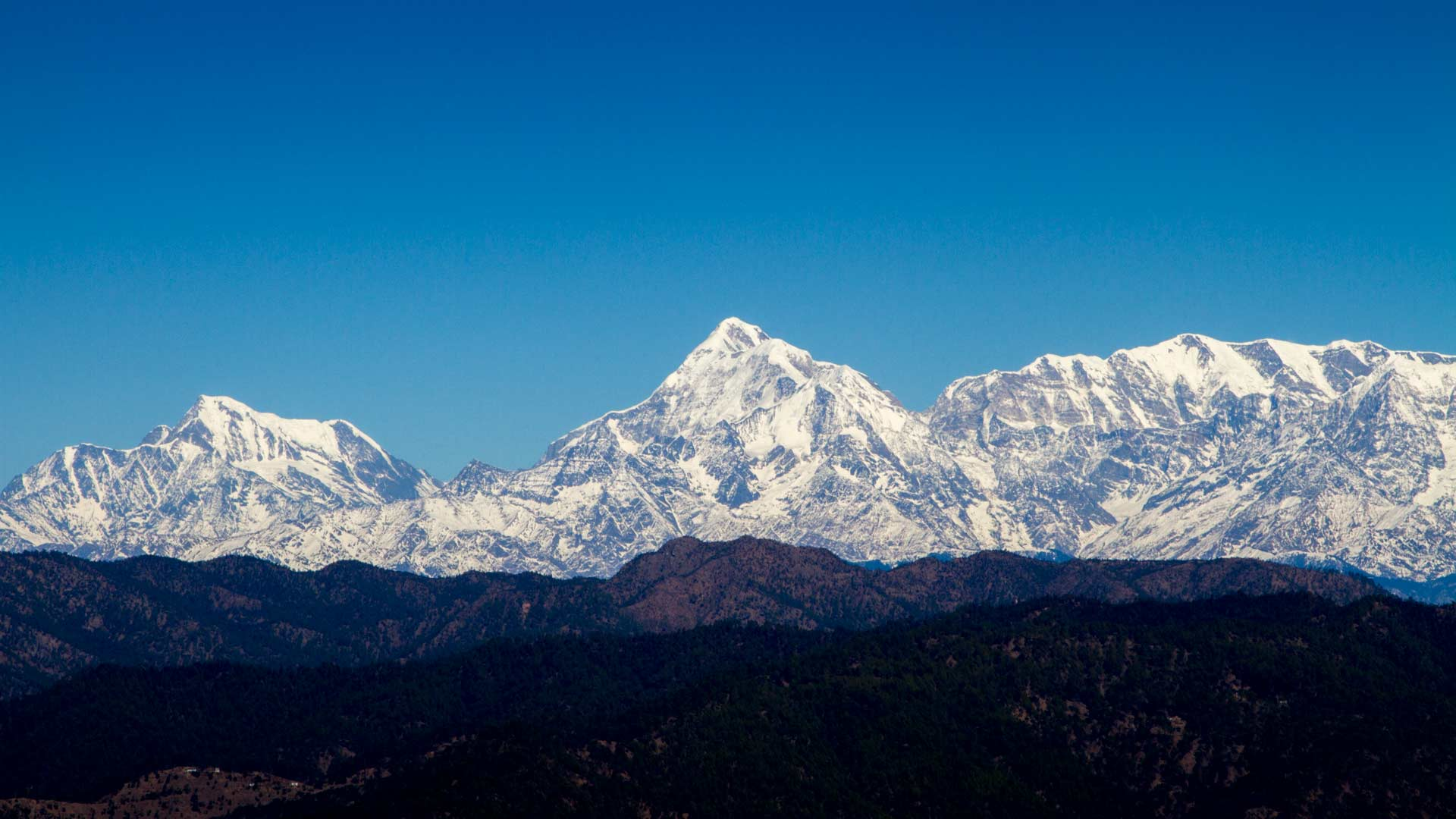 Views of the Himalayas