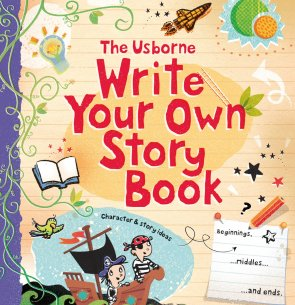 **NEW TIME** USBORNE'S WRITE YOUR OWN STORY MASTERCLASS: AGES 8+