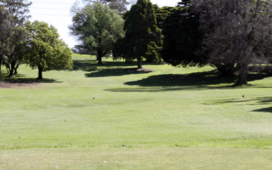 Queens Park Golf Club 1st Hole