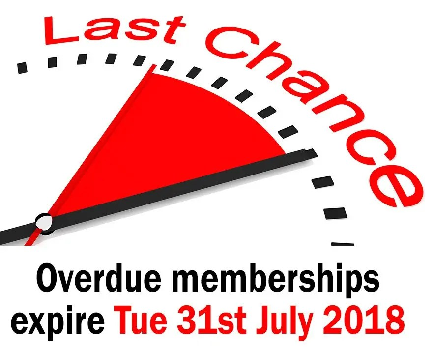 Last Chance to Renew