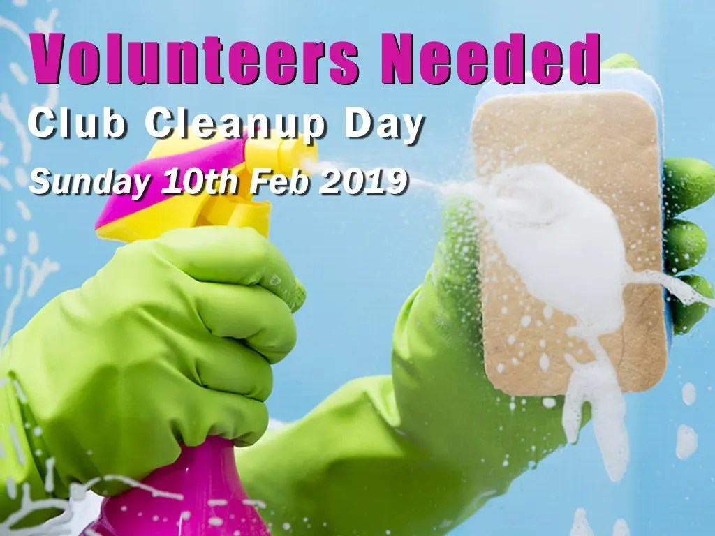 Club Cleanup Day 2019