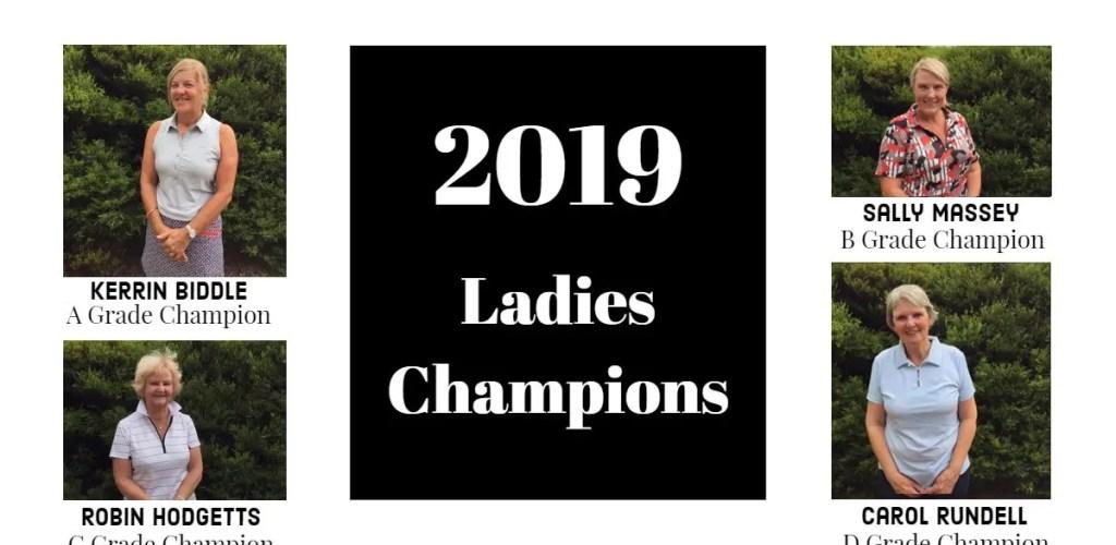 2019 Ladies Club Champions