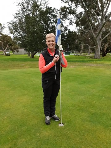 Congratulations to Louise Watach - a Hole in 1 on the 12th!