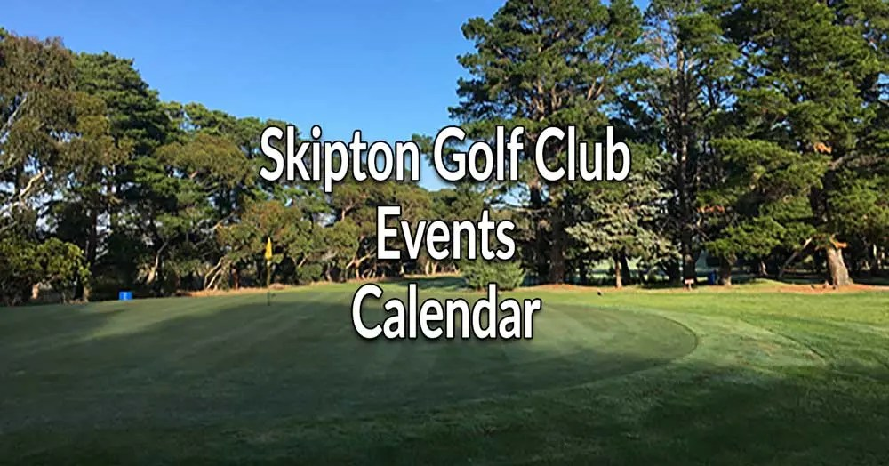 Please Consider Supporting Skipton Golf Club