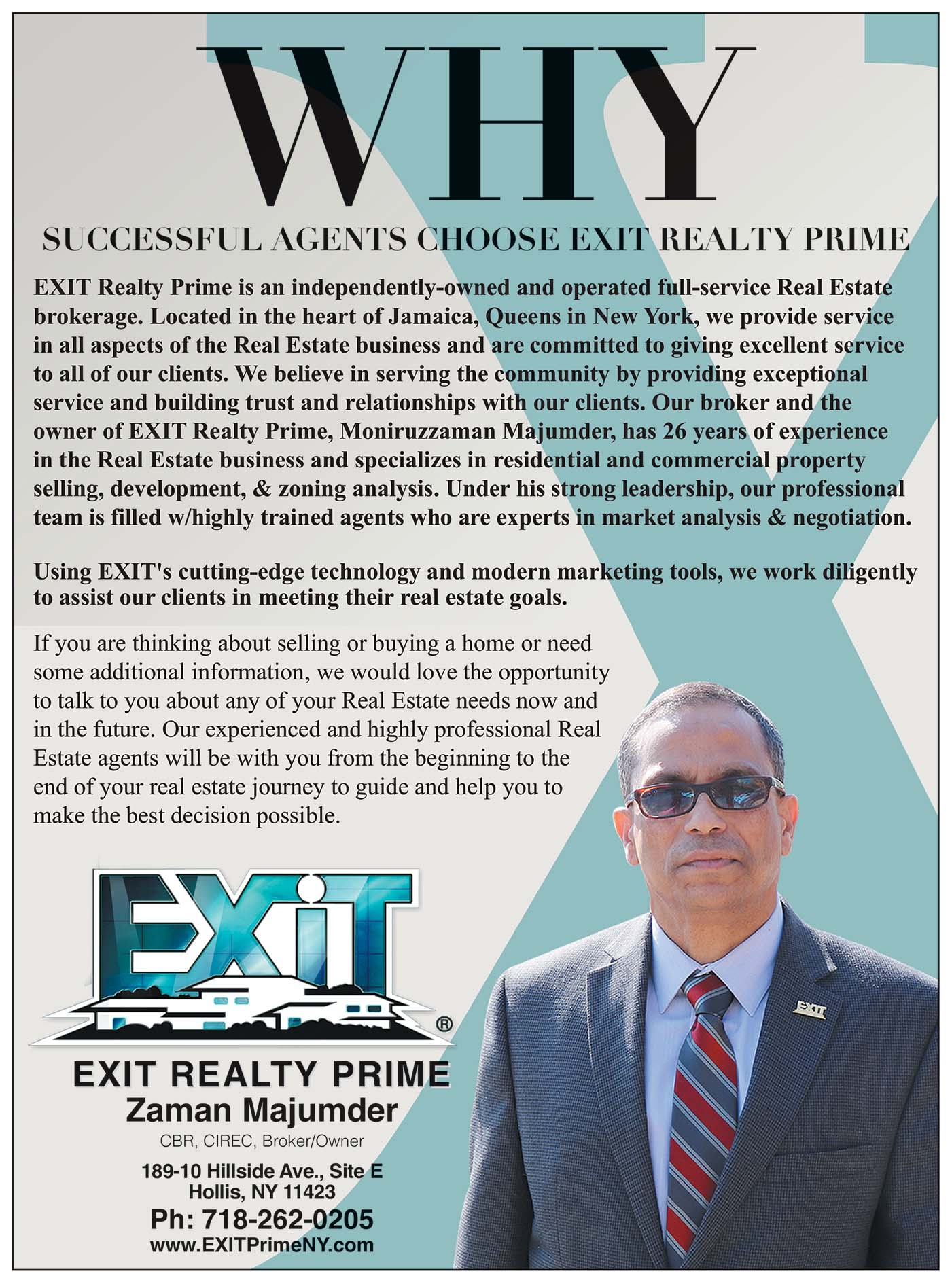 Exit Realty Prime Realtor Ad