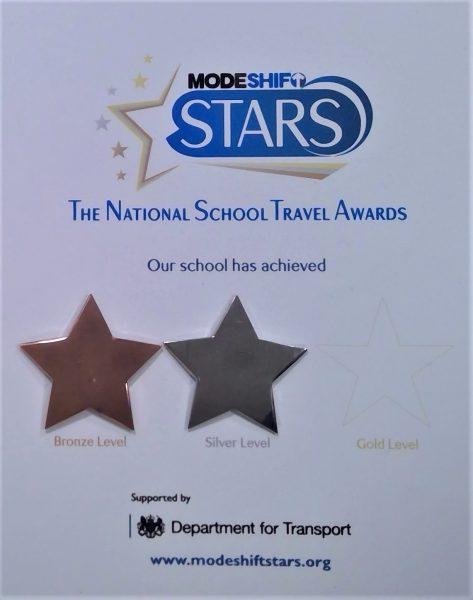 Modeshift award presented by Mayor of Barnsley