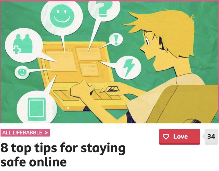 Stay Safe Online – advice for pupils