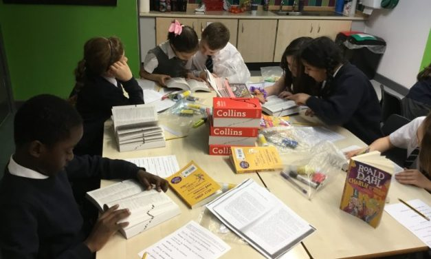 We were so excited in guided reading this morning…
