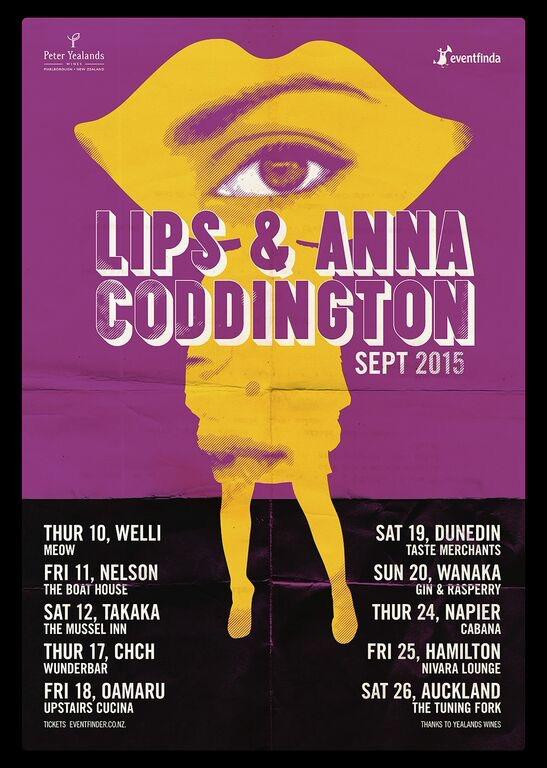 Anna Coddington and Lips