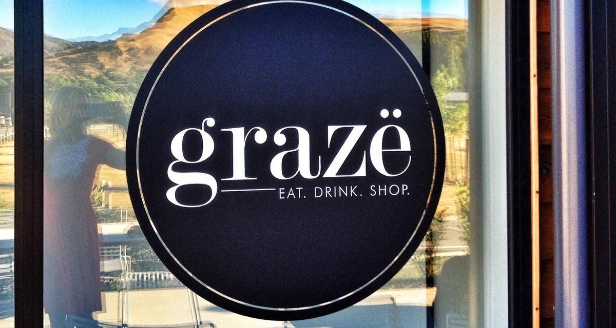 Graze- Eat, drink, shop at Lake Hayes Estate