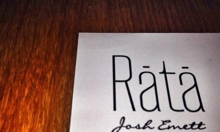 Rata Neighbourhood Night Menu