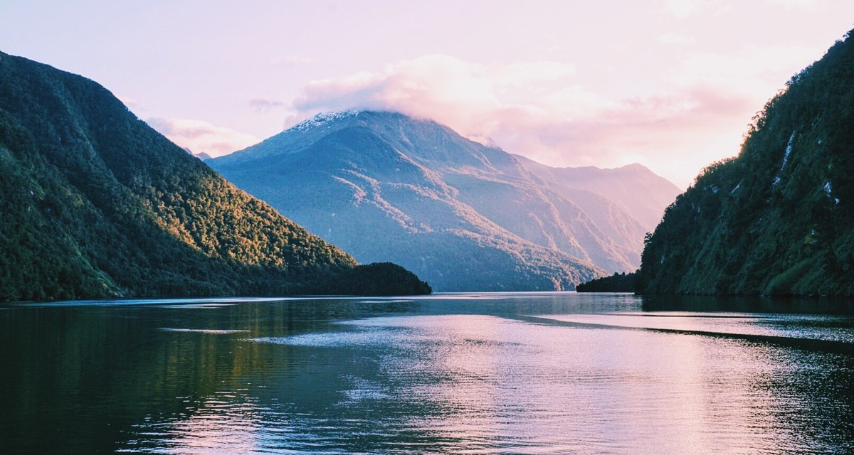 Sailing around Doubtful Sound with Real Journeys