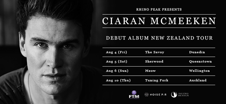 Ciaran McMeeken New Album and Tour