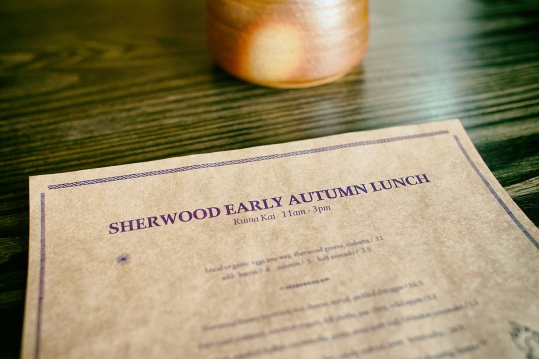 Sherwood Lunch for Autumn