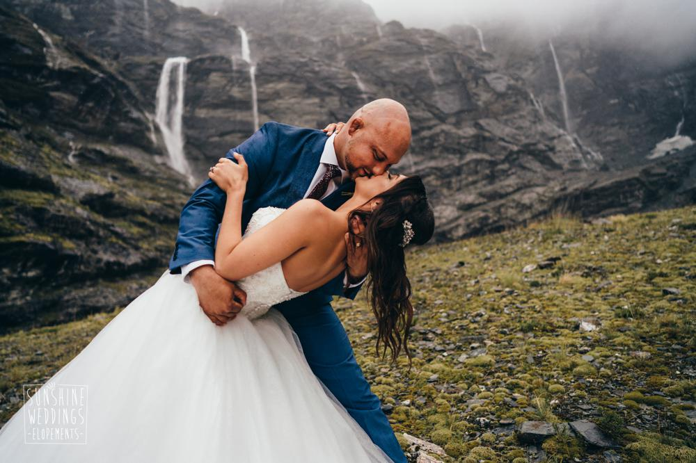 Wedding photography for Queenstown Mountain weddings