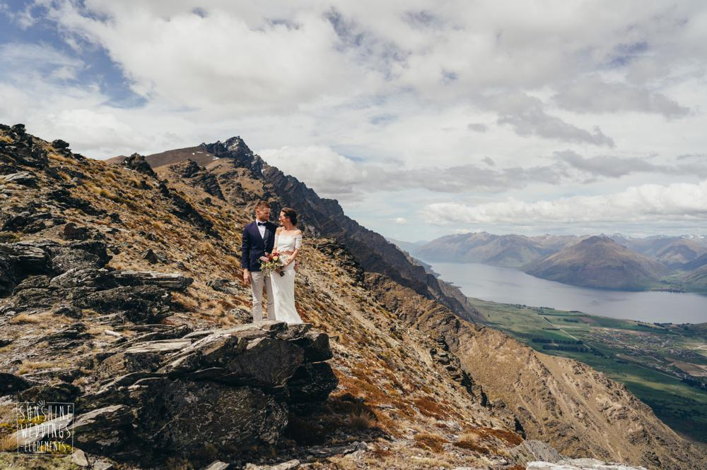 New Zeland elopement wedding packages for mountain weddings