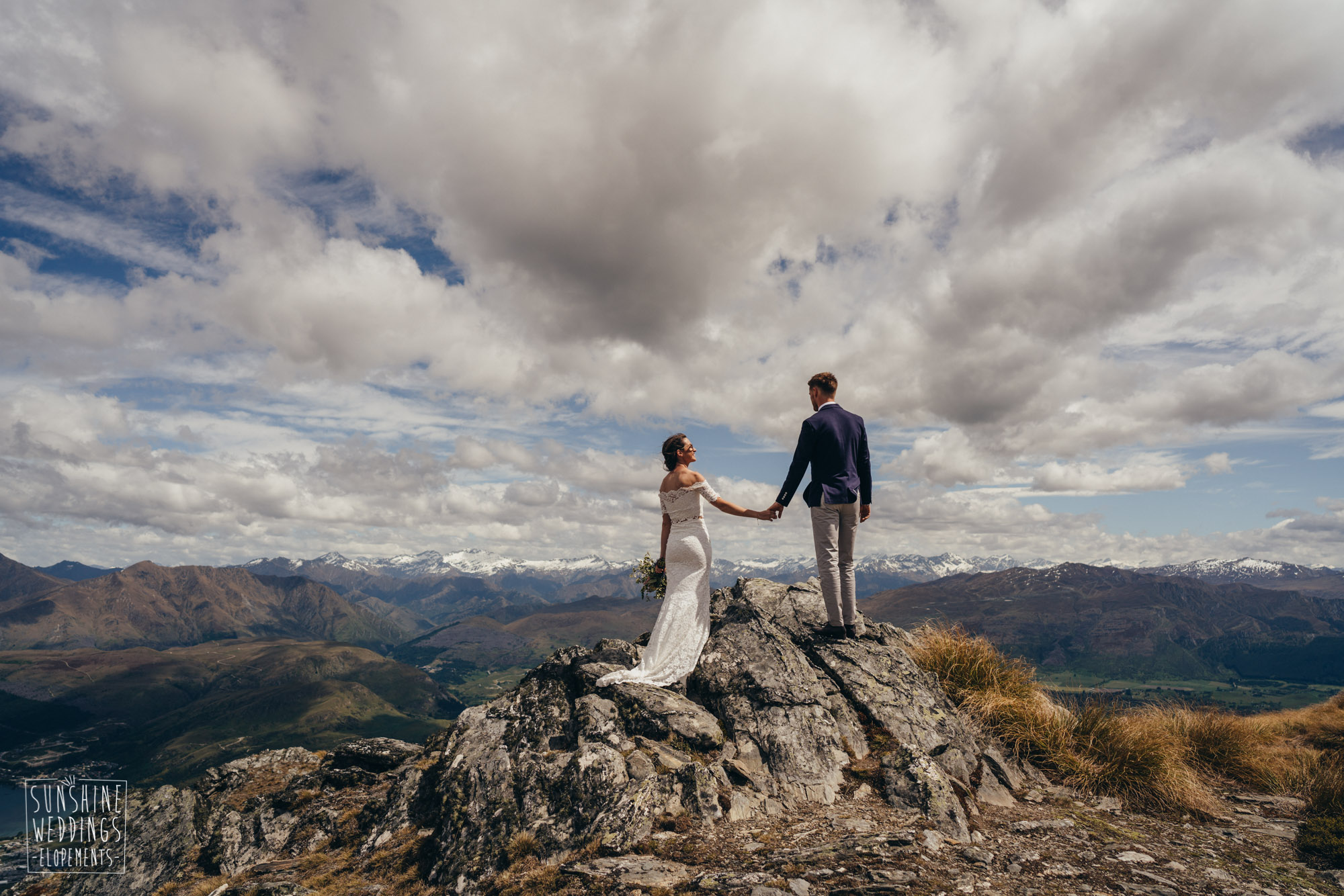 Mountain wedding on The Remarkables Queenstown NZ