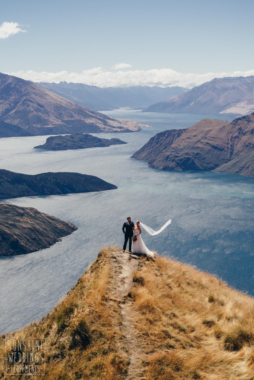 wedding mount roy wanaka