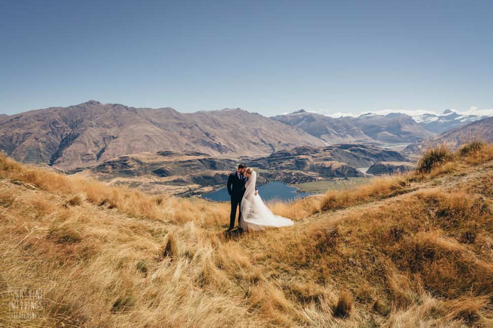 coromandel peak new zealand destination wedding