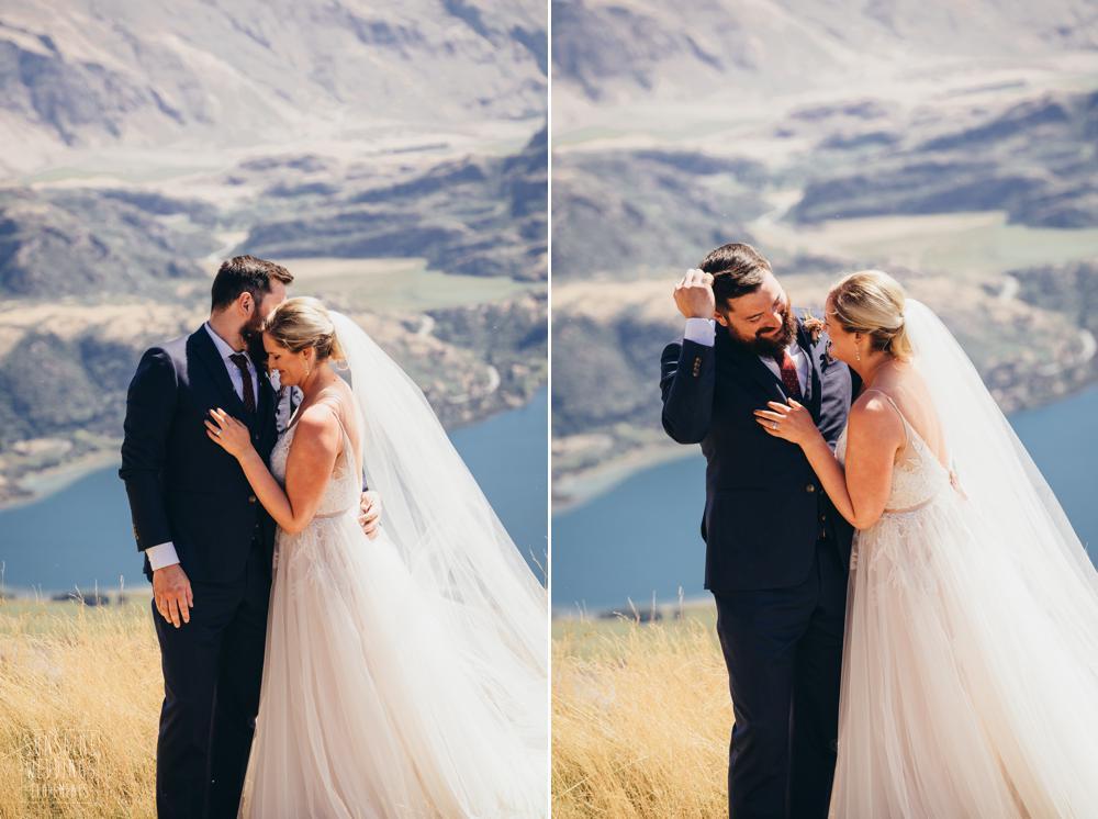 mountain elopement wedding nz