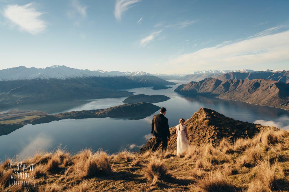Mount Roy elopement wedding photographer