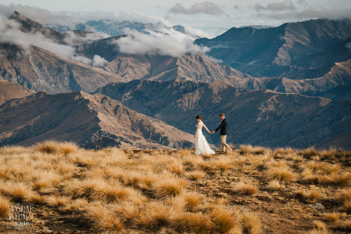 vanguard peak destination wedding new zealand