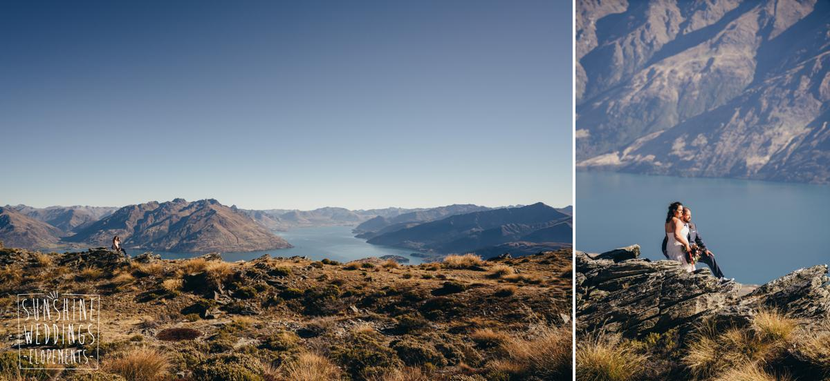 Queenstown mountain elopement on Remarkables