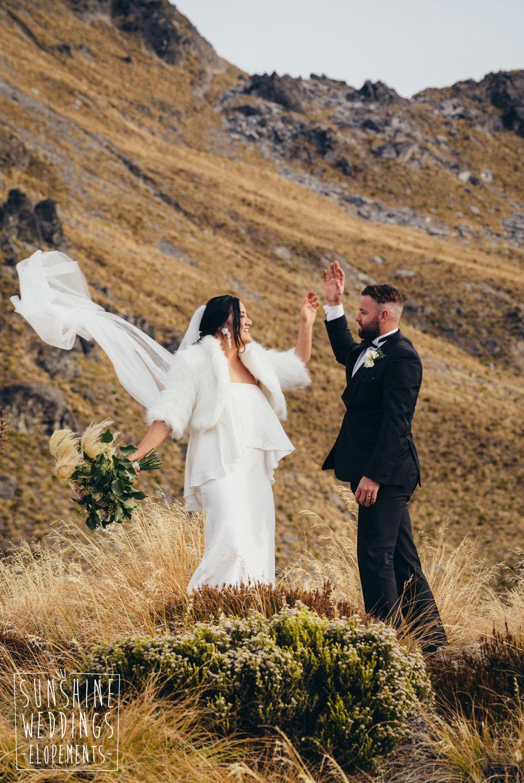mountain wedding Cecil Peak Queenstown