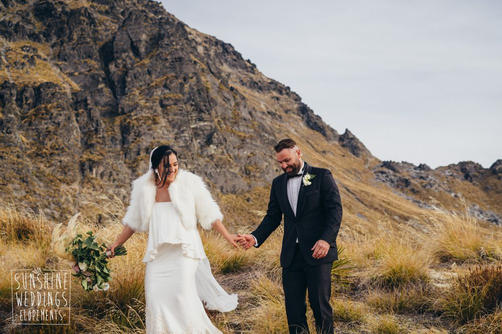 elope to Cecil Peak mountain NZ