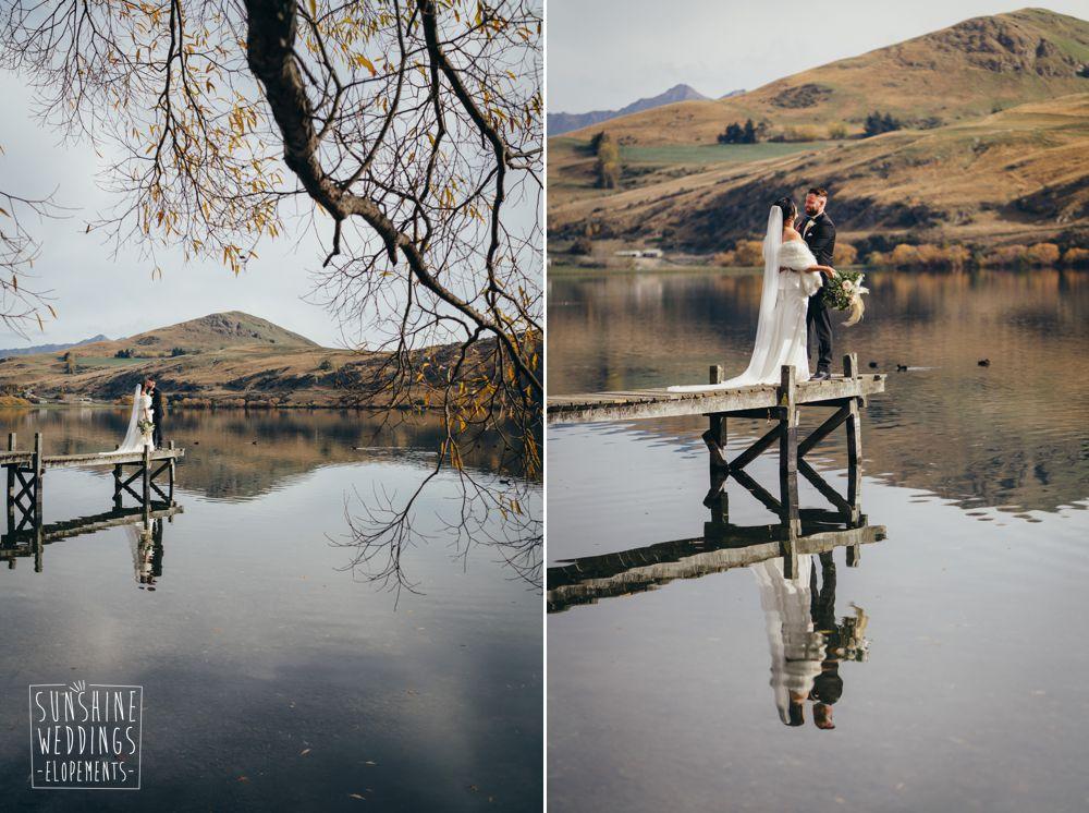 nz autumn elopement