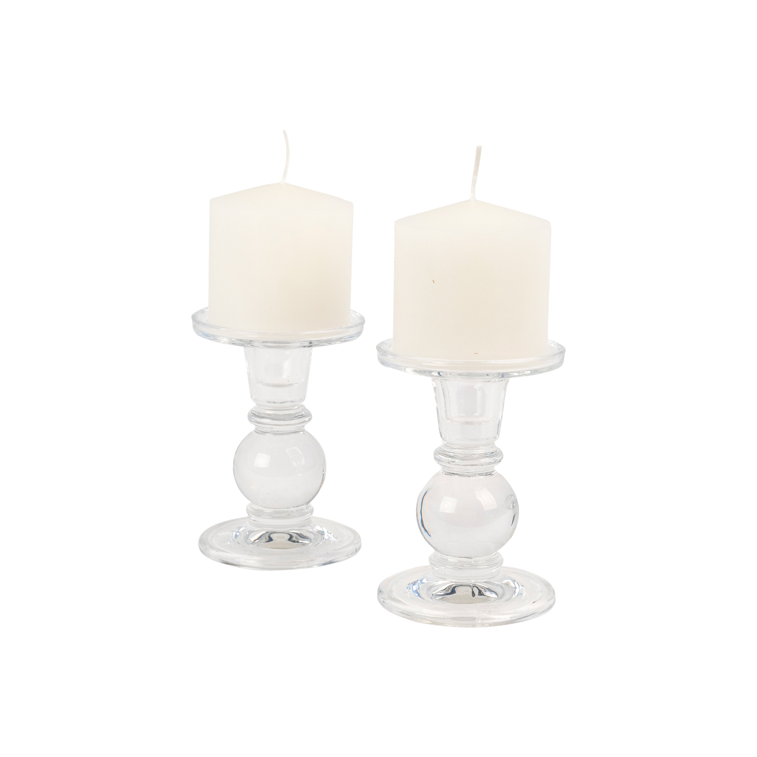 Pedestal Pillar Candle Holder