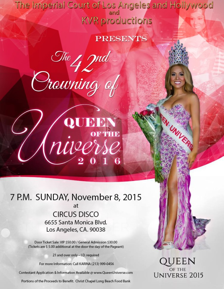 2015 Updated red Queen Universe 2016 Flyer