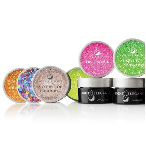 """""""Summer Squeeze"""" Colección Glitter Gel UV/LED"""