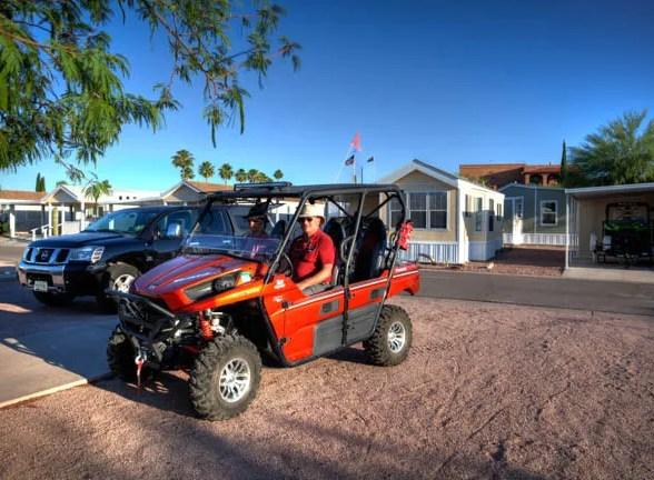 Off Roader's Heaven Queen Valley RV Resort