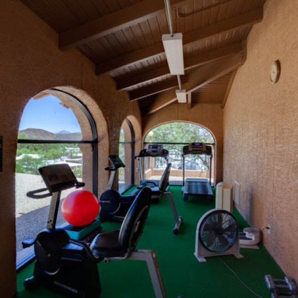 Queen Valley RV Resort's Fitness Center