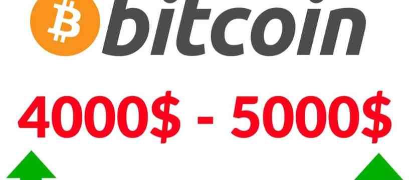 Bitcoin Price $4000 Is $5000 Around The Corner