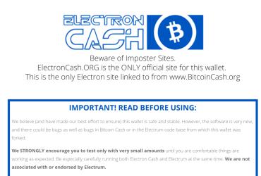 Electron Cash
