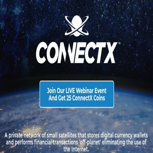 ConnectX Data Storage Satellites Outer Space