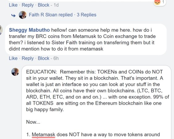 How To TRansfer Tokens from Metamask To An Exchange