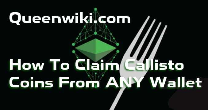Claim Callisto From Any Wallet